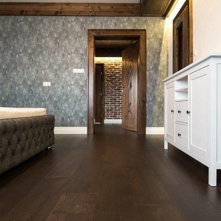 podłoga drewniana dąb toska
