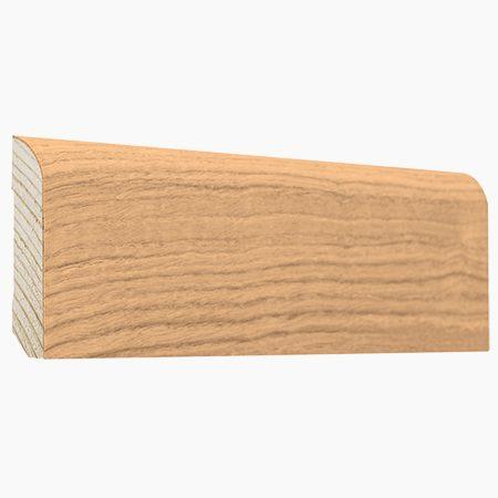 Listwy podłogowe dąb
