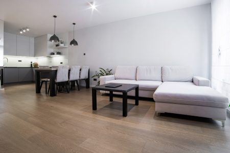 Dąb nugat podłoga drewniana fornirowana