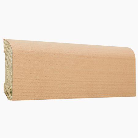 Listwa podłogowa bukowa - buk twardzielowy