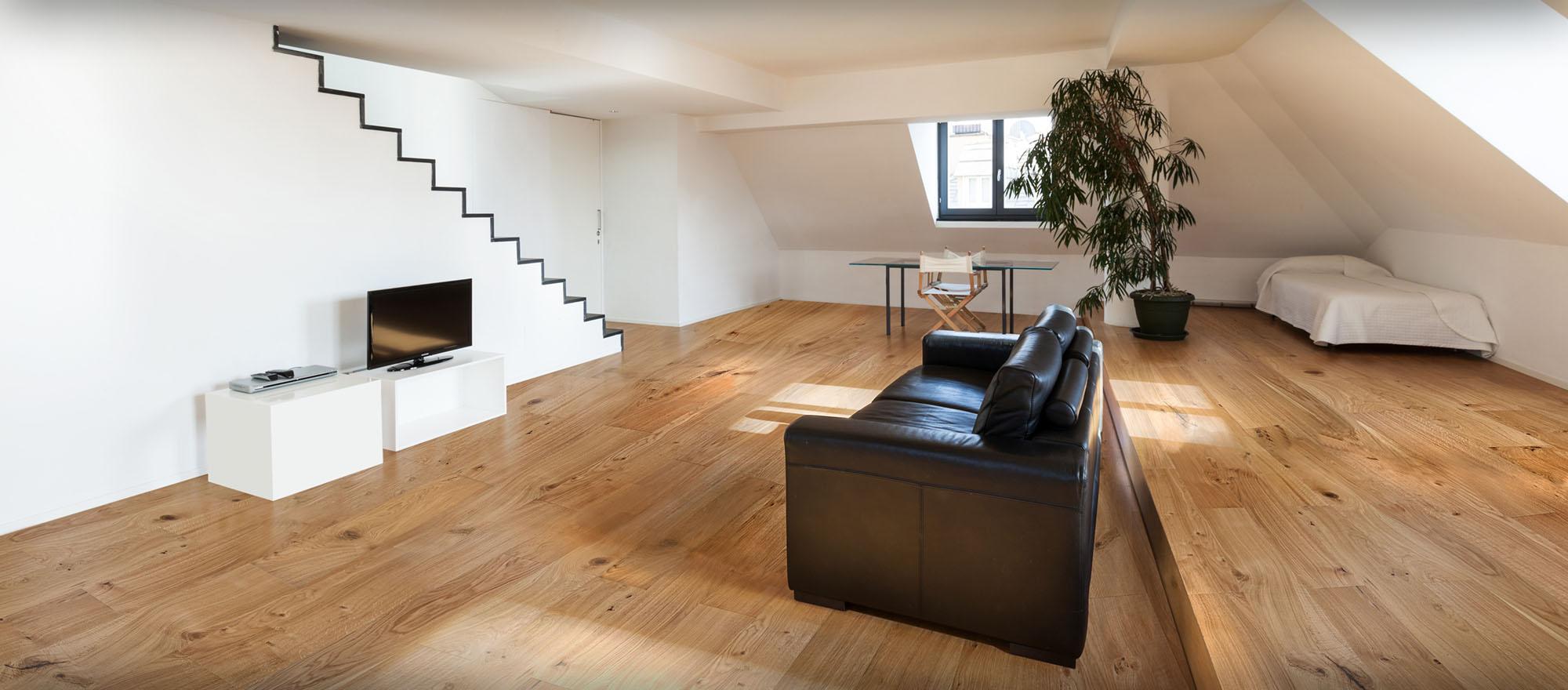 podłogi drewniane dąb klasyczny realizacja