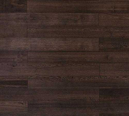Ciemna podłoga fornirowana fornir naturalny dąb gotycki odcień palonej kawy