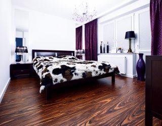 Palisander Santos Venifloor - podłoga w sypialni - realizacja