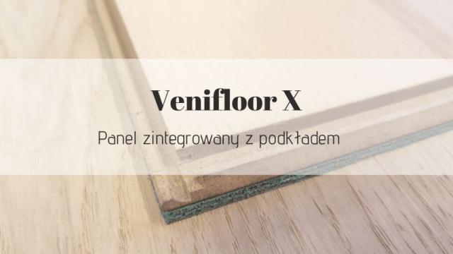 Panel z podkładem Venifloor X