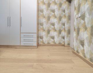 Dąb Pure Venifloor ułożony w sypialni - realizacja